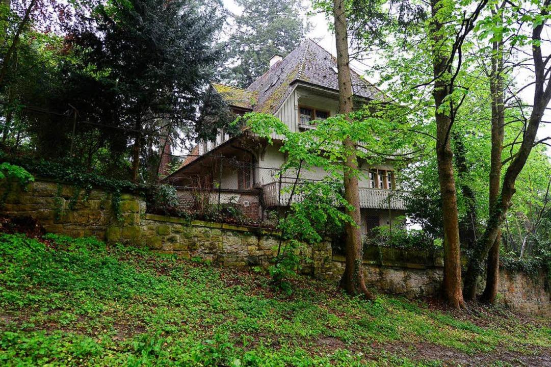 Die alte Schwarzwald-Villa (hier auf e...014) ist inzwischen längst abgerissen.  | Foto: Ingo Schneider