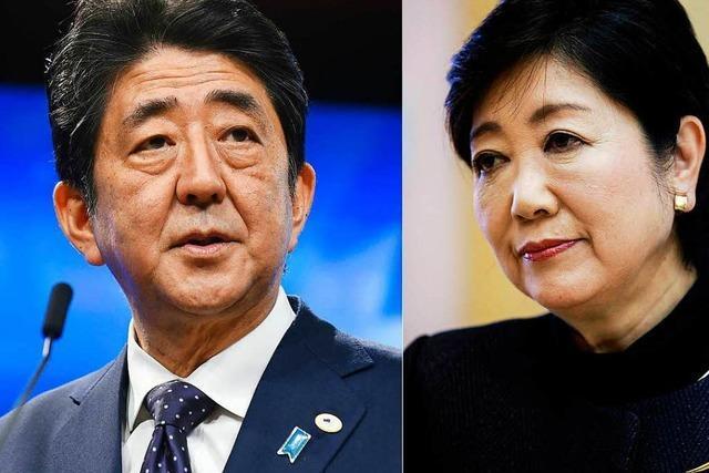 Neuwahlen in Japan: Shinzo Abes Konkurrentin patzt