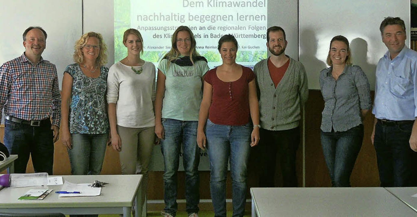 Freuen sich auf die künftige Zusammena...rg-Gymnasium, und Alexander Siegmund.     Foto: Privat