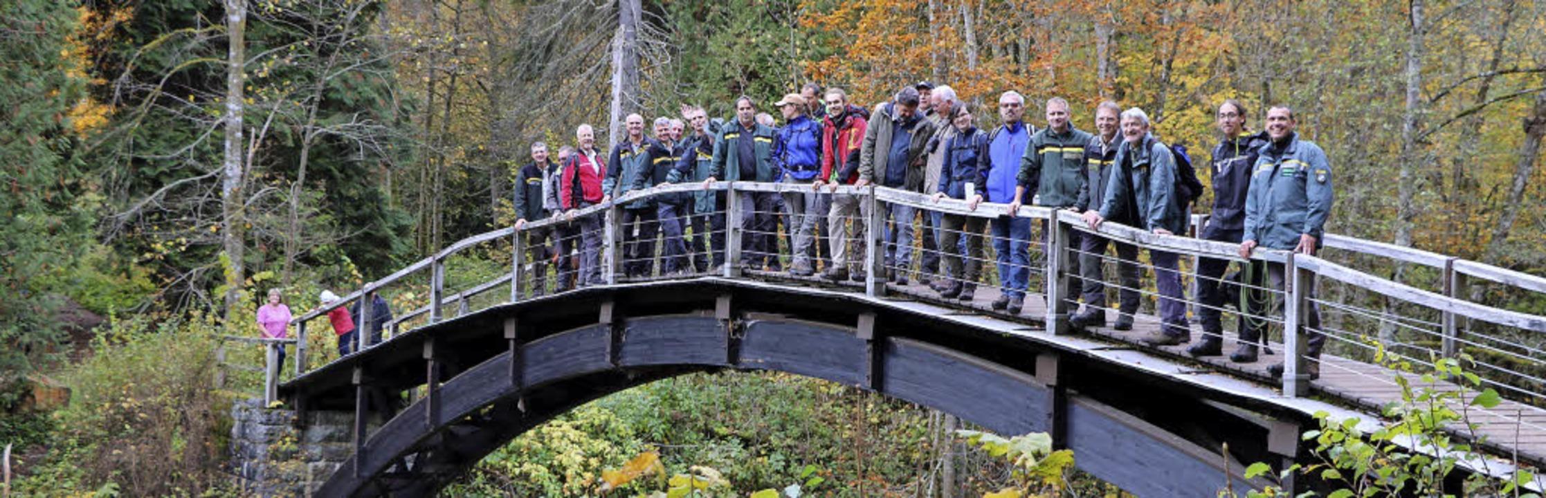 Zwei Dutzend Mitglieder des Baden-Würt... Erholungsnutzung auseinanderzusetzen.  | Foto: Martha Weishaar