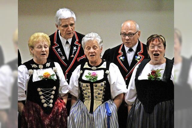 Gäste machen Herbstkonzert zu Spektakel