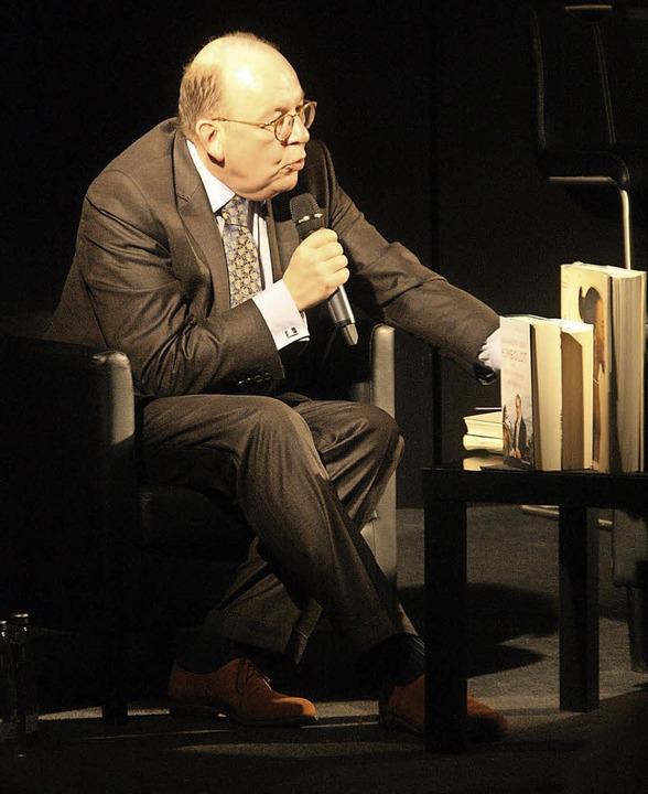 Der Literaturkritiker Denis Scheck bei den Badenweiler Literaturtagen  | Foto: Hans Jürgen Kugler