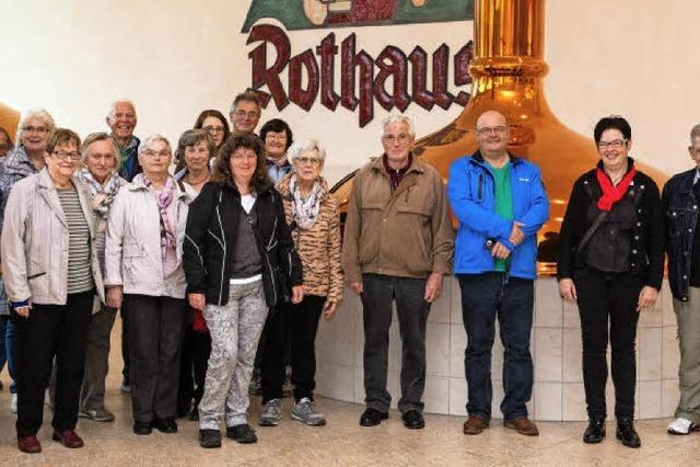 Führung für Leserinnen und Leser durch die Rothaus-Brauerei