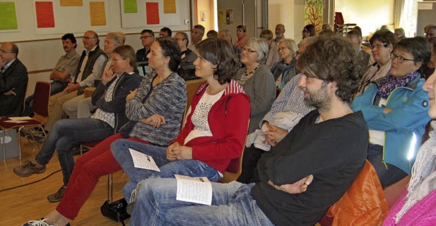 Ehrenamtstreffen in Allmannsweier    Foto: Karin Kindle