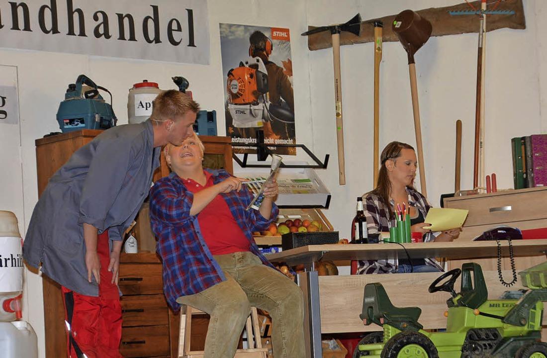 Mit viel Witz und Komik unterhielt die Laienspielgruppe ihr Publikum.    Foto: Danielle Hirschberger