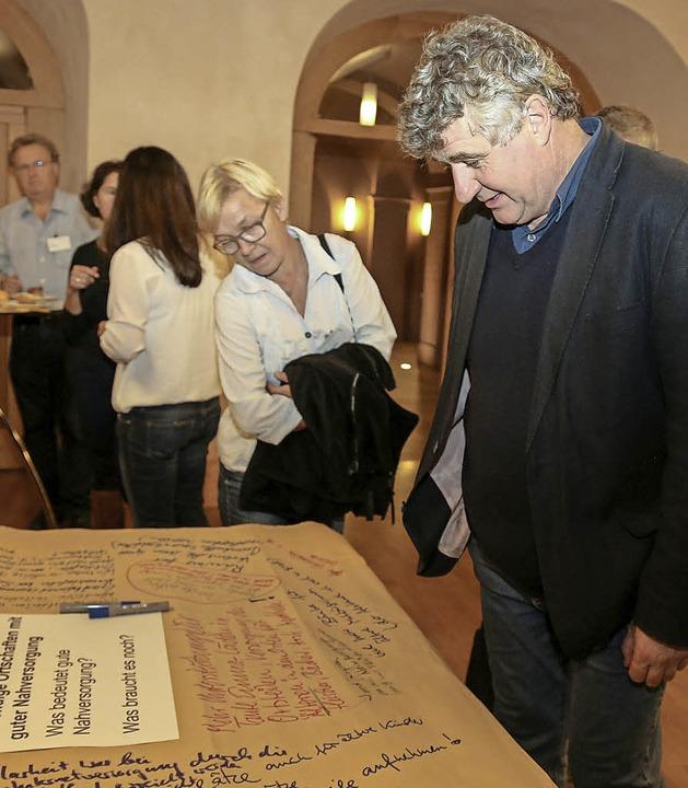 Udo Wenzl zieht eine erste Bilanz.  | Foto: Sandra Decoux-Kone