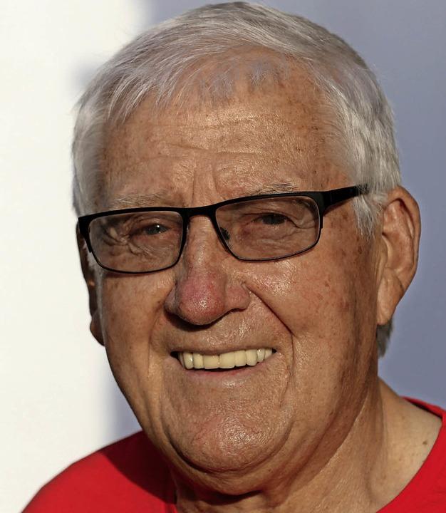 Hermann Janßen wird   80 Jahre alt.     Foto: Gert Brichta