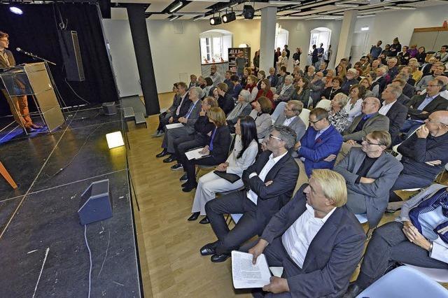 Das Freiburger Literaturhaus ist offiziell eröffnet
