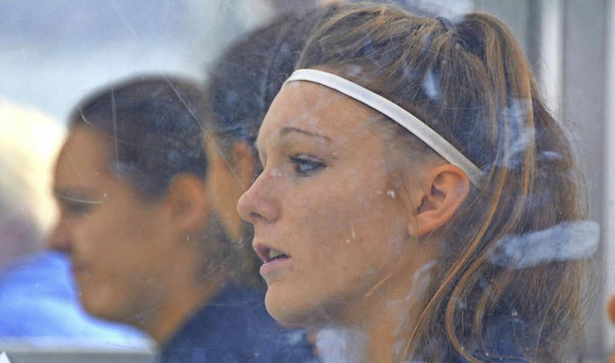 Treffsicher: Selina Vöhringer gelang das 1:3 für Titisee  | Foto: seeger