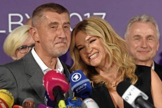 Milliardär Andrej Babis gewinnt Wahl in Tschechien
