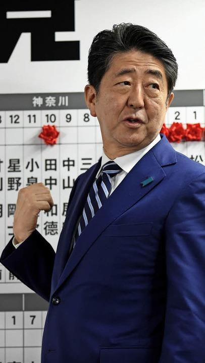 Shinzo Abe   | Foto: AFP