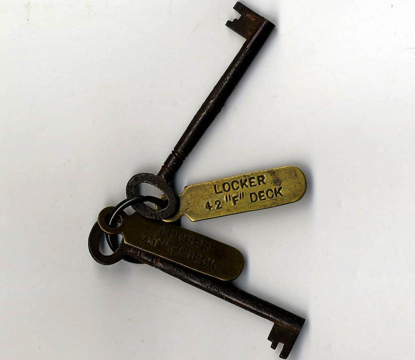 Schlüssel von der Titanic     Foto: dpa