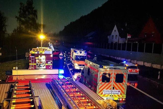 Kleinkinder unter den Verletzten beim Brenneter Unfall