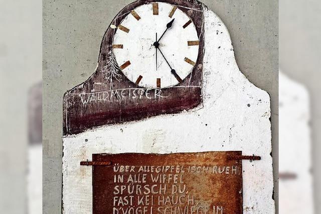 Roland Hölderle im Glashaus Rieselfeld