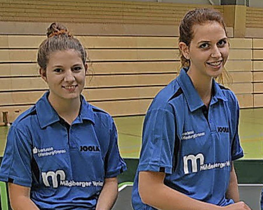 <BZ-FotoAnlauf>Tischtennis: </BZ-FotoA...n  Wolf und Kolleginnen siegten klar.     Foto:  Verein