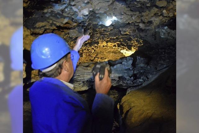 Schauspiel in der Höhle