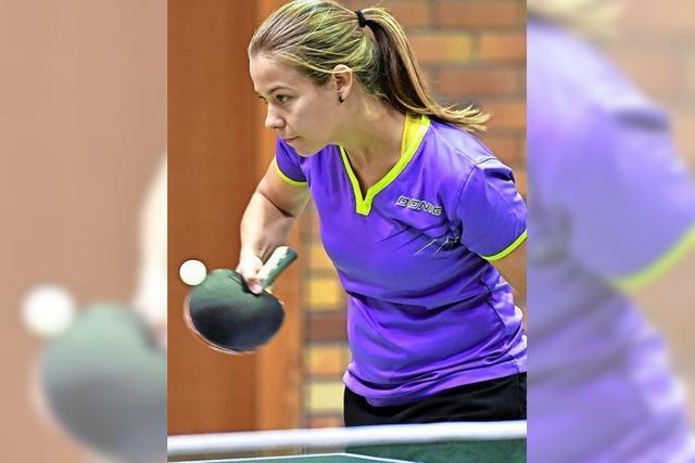 Sieg und Unentschieden für die Regio-Teams im Tischtennis