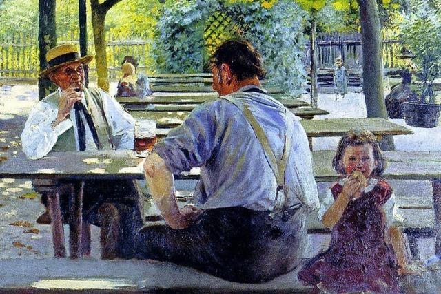 Malerei des großartigen, aus Fessenbach stammenden Impressionisten Lothar von Seebach in seinem Heimatort bei Offenburg
