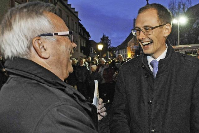 Micha Bächle wird Bürgermeister