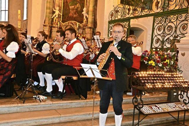 Blasmusik in der Kirche