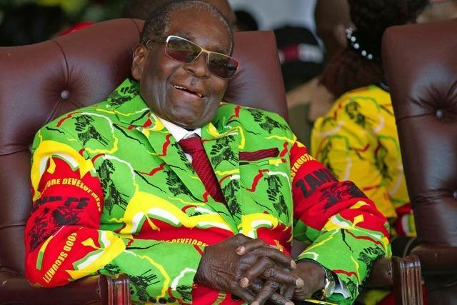 Simbabwes greiser Staatschef Mugabe wurde beinahe UN-Botschafter