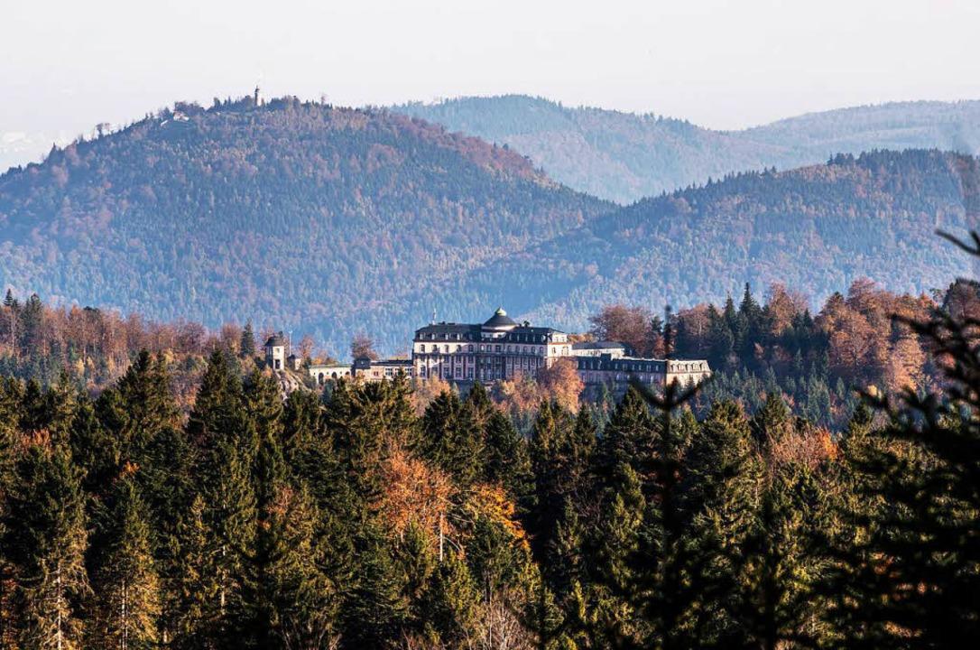 Die Bühlerhöhe liegt am Nationalpark Schwarzwald.  | Foto: dpa