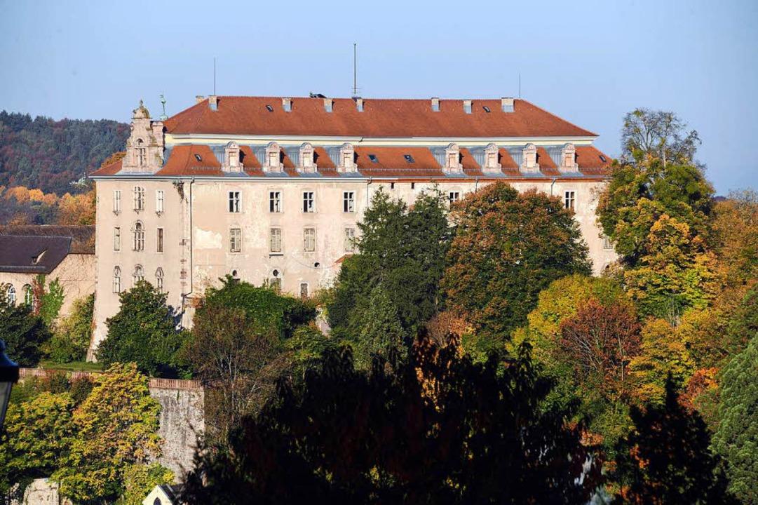 Zweites Sorgenkind der Region: das Neue Schloss in Baden-Baden  | Foto: dpa
