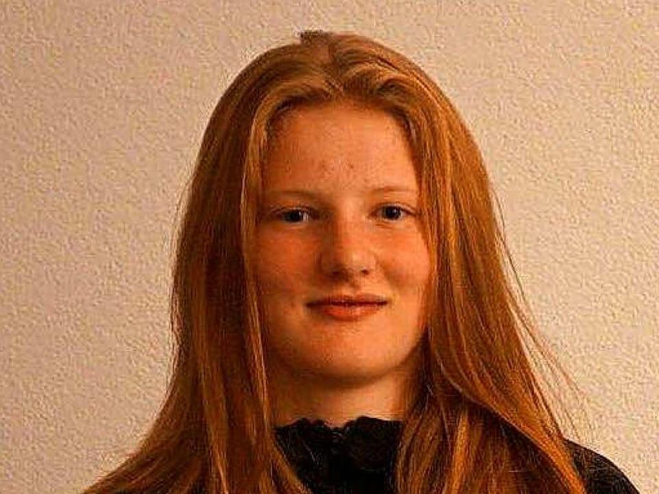 Sophia Schäfle  | Foto: Privat