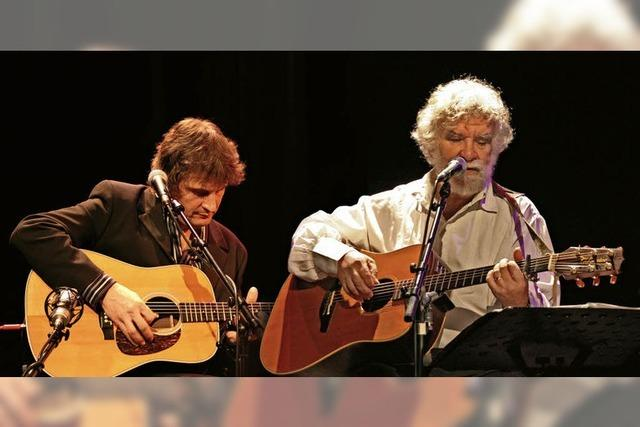 René Egles und Jean-Paul Distel in Emmendingen