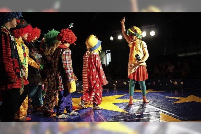 Zirkuszelt am 27. Oktober in Kirchzarten