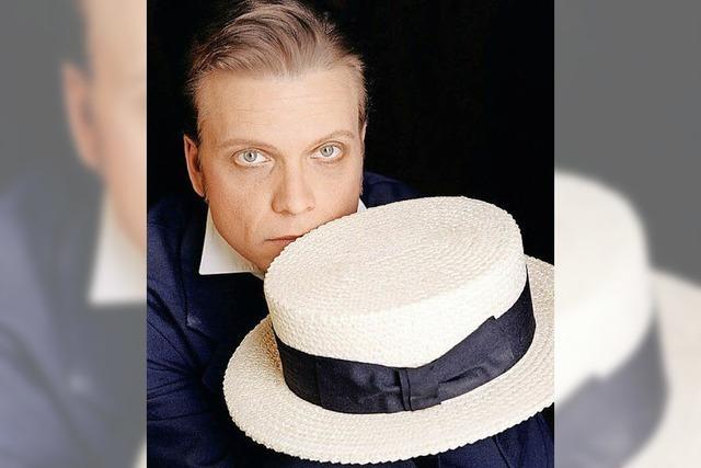 Konzert von Tenor Boris Eder über den österreichischen Schauspieler und Operettensänger Alexander Girardi in Lörrach