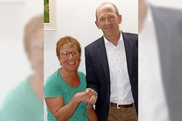 Marita Bücklers übernimmt Amt