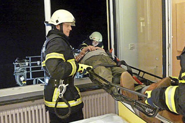 Rauch wabert durchs ganze Krankenhaus