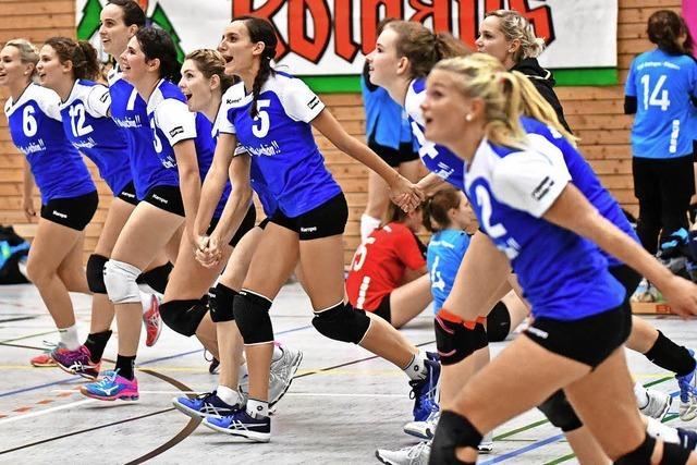 Volleyballer von Umkirch und 1844 II siegen, USC verliert