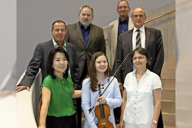 Eine Mozartgala im neuen Atrium der Firma Resin