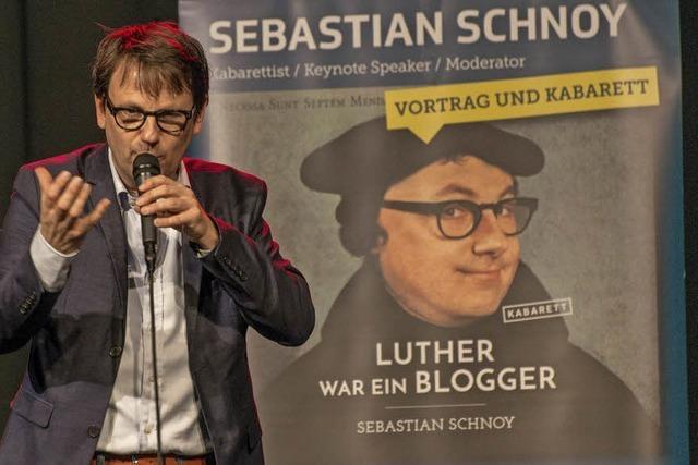 Von Luther lernen, heißt: einfach sprechen, kompliziert denken
