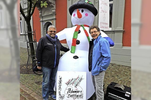 Wintermarkt in Planung