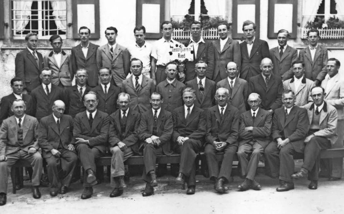 Männergesangverein Ried  | Foto: Privat