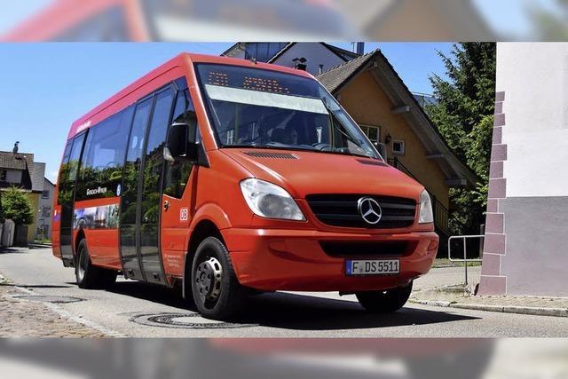 Rat in Grenzach-Wyhlen bespricht neue Buslinie