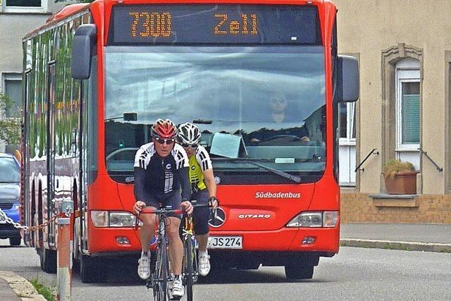 Kreis baut Busverkehr im Kander- und Wiesental aus