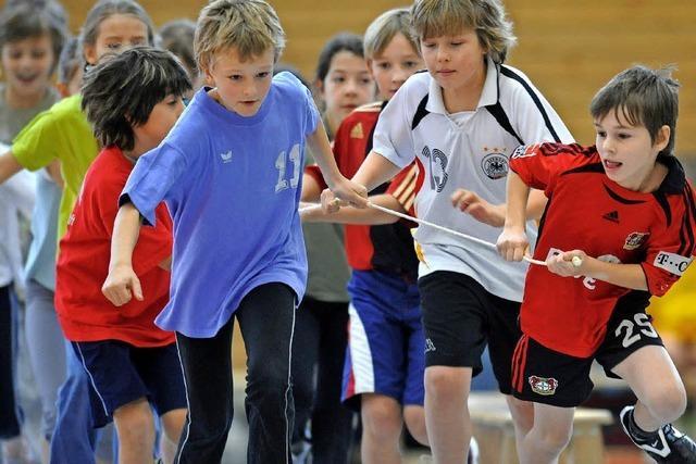 Kinder können kostenlos im Verein trainieren