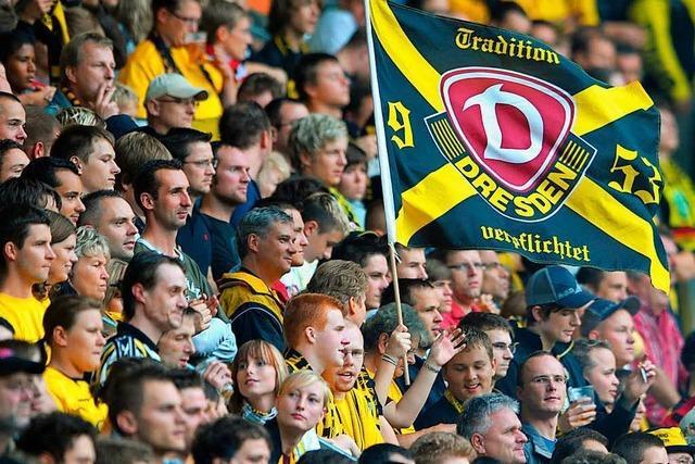 Dynamo Dresden kämpft gegen den schlechten Ruf seiner Fans