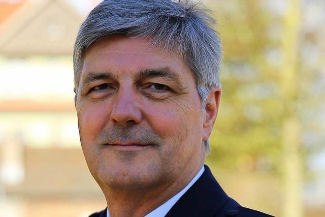 Reinhard Renter ist Polizeipräsident in Offenburg