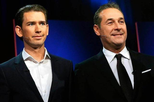 Kurz und Strache wollen Regierung in Österreich bilden