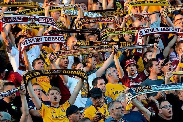 3000 Dynamo-Fans reisen zum Spiel nach Freiburg