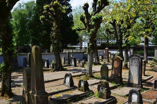 Polizeieinsatz auf dem Lörracher Friedhof