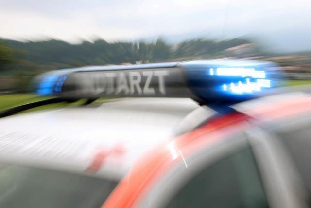 Arbeiter stürzt in Titisee sechs Meter tief und verletzt sich schwer