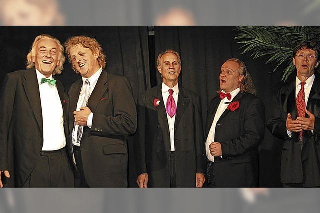 Männer-Ensemble am 28. 10. in Kirchzarten