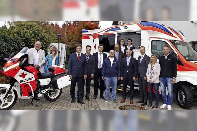 Zwei neue Fahrzeuge für das DRK