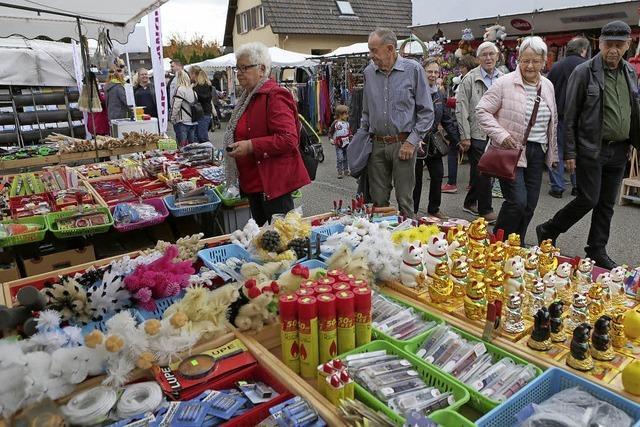 Jahrmarkt in Ichenheim